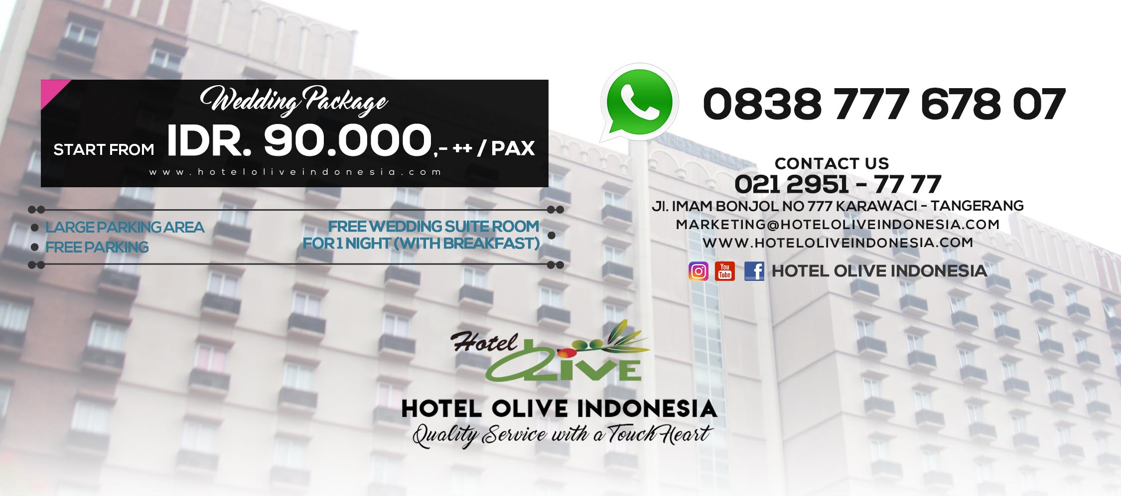 HOME | Hotel Olive Indonesia